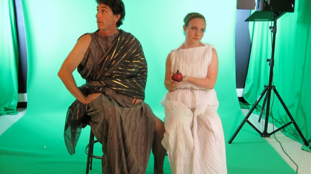Hades and Persephone Chromakey