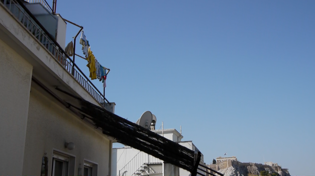 Rooftop Laundry