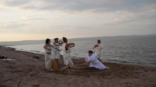 Beach Dance Fall